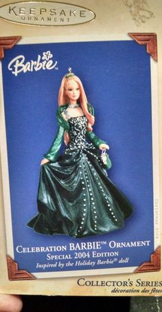 Hallmark Barbie ornament...