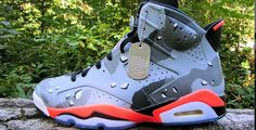 "Air Jordan 6 ""Desert Camo"" Custom"