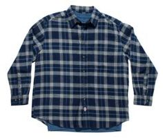 Flannel Shirt with Tee     PRICE  $41.99 - $44.99   Item# D14037  Sale Price: $16.80- $18.00  - Plaid brushed flannel with a tee  - Left chest pocket on the shirt  - Adjustable cuffs  - Double needle stitching on the tee