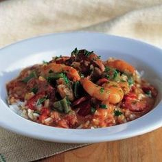 Spicy Seafood and Sausage Gumbo (Williams Sonoma)