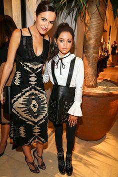 Jenna Ortega wearing our Adison White Shirt at the Ralph Lauren party | Anne Fontaine