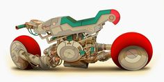 Final Color Style for Space's ride.by ghettospace Futuristic Motorcycle, Futuristic Art, Photoshop Tumblr, Color Photoshop, Hover Bike, Stunt Bike, Concept Motorcycles, Tecno, Cyberpunk