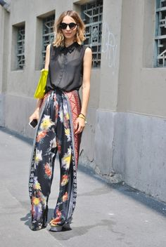 Palazzo Pants, Not for the Boring.