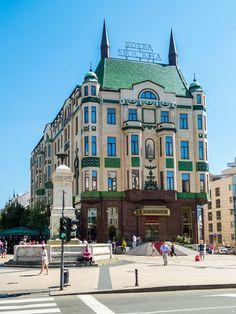 Belgrade Serbia - Hotel Moskva