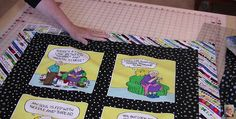 Great Tips for Handling Common Issues That May Crop Up! So many wonderful printed fabric panels are available these days that it's hard to choose just one. Often these panels are designed for incorporating into quilts (Annie's has a great selection). Sometimes a panel is one big image, perfect for the center of a quilt. …