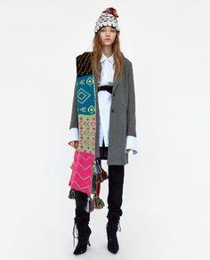 Image 1 of SUPER SOFT COAT from Zara
