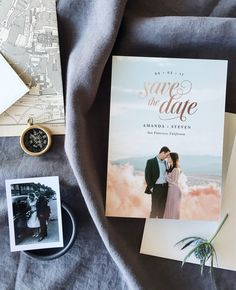 Introducing Minted's 2017 Save the Date collection. Set the tone for your wedding day with unique save the dates from our community of independent artists.