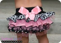 attached is a pattern to sew diaper cover and then add your choice of frilled fabric and toile   www.prudentbaby.c... by sonme