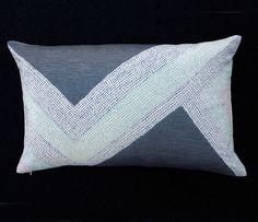 Mia Pillow  by Leah Singh