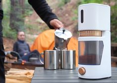 Complete with a Wi-Fi connection and a companion app, this smart grinder is equipped with sensors to detect when the beans inside become stale.
