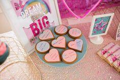 Custom cookies for Jojo Siwa themed birthday party by Hello and Cookie 8th Birthday, Birthday Party Themes, Jojo Siwa, Custom Cookies, Bows, Arches, 8th Anniversary, Bowties, Bow
