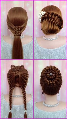 Easy Hairstyles For Long Hair, Headband Hairstyles, Braided Hairstyles, Wedding Hairstyles, Cute Kids Hairstyles, Female Hairstyles, Teen Hairstyles, Black Hairstyles, Medium Hair Styles