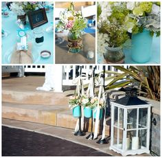 the perfect date // rustic teal wedding