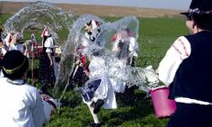 several Slovak villages still keep the traditions of Easter