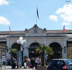 Estación de Pau, Bearn, Francia