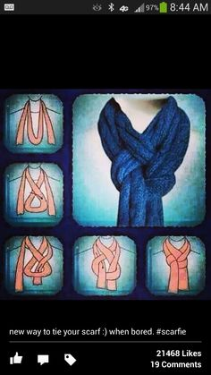Scarf tying idea