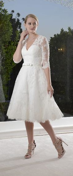 Die schönsten Kleider fürs Standesamt | Moms wedding | Pinterest ...
