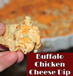 Super Bowl Party Appetizer ideas: Simple party appetizer crowd pleaser recipe:  Buffalo Chicken Cheese Dip Recipe.  More Football Super Bowl Party Food Ideas here: http://involvery.com/best-easy-party-appetizers-guaranteed-crowd-pleasers/