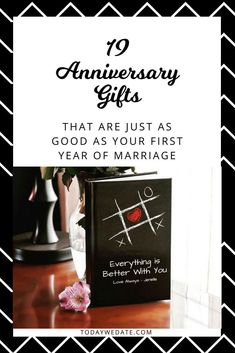 19 Heartwarming Gifts To Celebrate Your First Year Of Marriage - TodayWeDate.com anniversary gift