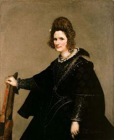 Веласкес, Диего (1599 - 1660) - Портрет сеньоры. Картинная галерея старых мастеров Берлина.
