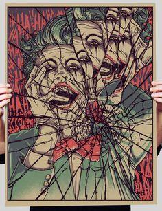 Illustration & Painting / creepy-batman-art-by-godmachine-joker