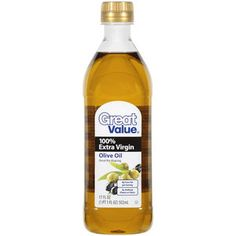 Great Value: 100% Extra Virgin Olive Oil, 17 Oz