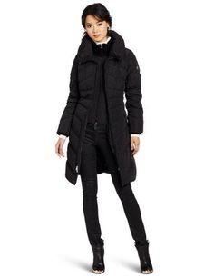 Jessica Simpson Women's Maxi Down Jacket - GET DISCOUNT at http://glashions.com