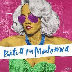 #Madonna #BitchImMadonna #RebelHeartTour #PopArt #MadonnaArtVision