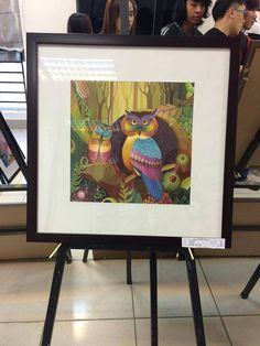 Owl Doodle, Blue Jay Bird, Composition Art, 2d Design, Rilakkuma, Diy Arts And Crafts, Acrylic Art, Colorful Decor, Snail