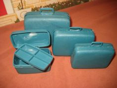 VINTAGE BARBIE 1960'S SAMSONITE LUGGAGE SET COMPLETE AND EXCELLENT | eBay