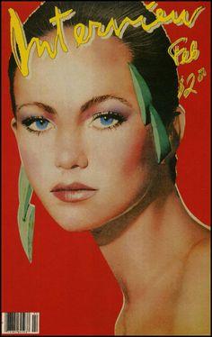 Diane Lane - Interview Magazine Cover [United States] (February 1981)