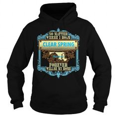 Clear Spring in Maryland T Shirts, Hoodies. Get it now ==► https://www.sunfrog.com/States/Clear-Spring-in-Maryland-Black-Hoodie.html?57074 $39.95