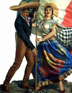 Mexican Calendar Art