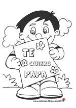 te quiero papa dibujos de el dia del padre para colorear y para imprimir Activity Day Girls, Activity Days, Easy Diy Crafts, Crafts For Kids, Dad Drawing, Rasheeda, Funny Games, Fathers Day, Coloring Pages