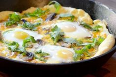 Breakfast Pizza from 10 Breakfast Recipes to Make for Dinner