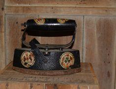 Antique German Coal Iron  Sad Iron  Vintage by Vintassentials, $45.00