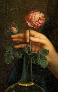 Anonymous - Portrait of Anna Maria van Hogendorp (Detail), 1690 Renaissance Kunst, Renaissance Paintings, Aesthetic Painting, Aesthetic Art, Classic Paintings, Victorian Art, Fashion Painting, Classical Art, Jolie Photo