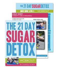 The 21 Day Sugar Detox got a makeover and it's own blog!