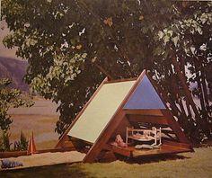 sandbox & A-Frame playhouse