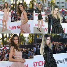 #IzabelGoulart, and #Belinda stepped out for the premiere of #Baywatch in Miami! • • • • • #IzabelGoulart e #Belinda saíram para a pré-estreia de #Baywatch em Miami!
