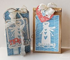 Crafting ideas from Sizzix UK: Christmas crafting week 2 - Minna