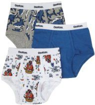 OshKosh B'Gosh Boys 2-7 3Pk Briefs Shark Pirates