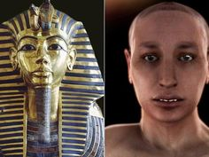 King Tut unmasked ... His misshapen features were the result of his father, King Akhenate