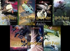 Pinner I don't personally know, but these are absolutely beautiful & so interesting. I love that it took place all over the world; love for Harry Potter - Dutch covers