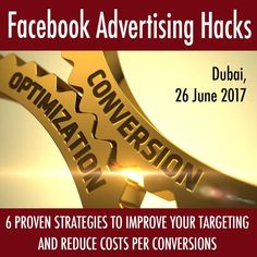 Facebook Advertising Workshop in Dubai by Krisz Rokk, CEO of Strength In Business #FacebookAds #FacebookAdvertising #FacebookMarketing --- 6 Proven Strategies to Improve Your Targeting and Reduce Costs per Conversions 📈✨🚀 --- 👍🏻 PLUS get all your questions answered during the 1,5 hour live Q&A. Advertising, Ads, Facebook Marketing, Conversation, Improve Yourself, Workshop, Strength, This Or That Questions