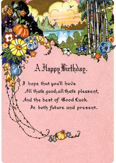 minnie first birthday party Happy Birthday Prayer, Happy Birthday Wishes Cards, Vintage Birthday Cards, Happy Birthday Pictures, Happy Birthday Quotes, Vintage Greeting Cards, Birthday Greeting Cards, Birthday Greetings, Birthday Memes