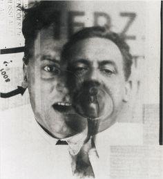 Kurt Schwitters. Photo El Lissitzky