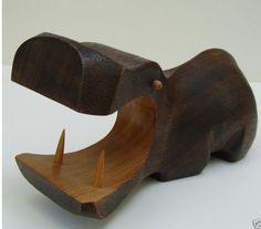 wild animal toy hippo