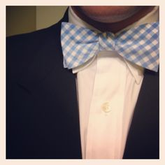 """Every time I've met someone who knows me through Pinterest, they've always asked, """"Where's your bow tie?"""" Today, I delivered."""