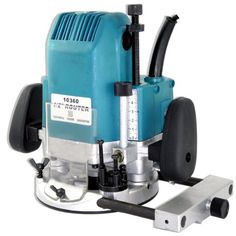 """New 2HP Plunge Router Woodworking Tools Power Tools 1/2""""  1/4"""" Collets - 2 HP plunge router features 8.75 amps. Accepts 1/4"""", 3/8"""" and 1/2"""" router bits. This model plunges to one of three preset depths, or you can lock at desired level. Includes"""